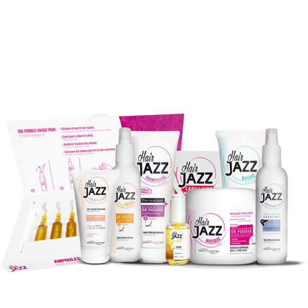 Hair Jazz gamme complète (pour les cheveux)