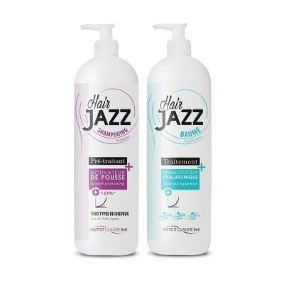 HAIR JAZZ Pro Shampooing et Baume hyaluronique - Accélérez la croissance de vos cheveux !